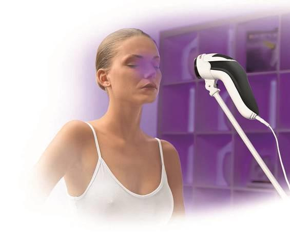 Bioptron colour light therapy