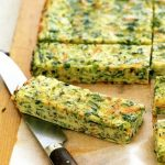 Herbed Zucchini and Spinach Frittata